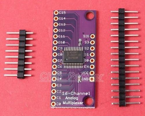 cd74hc4067 16 ch digital analogico mux multiplexor arduino