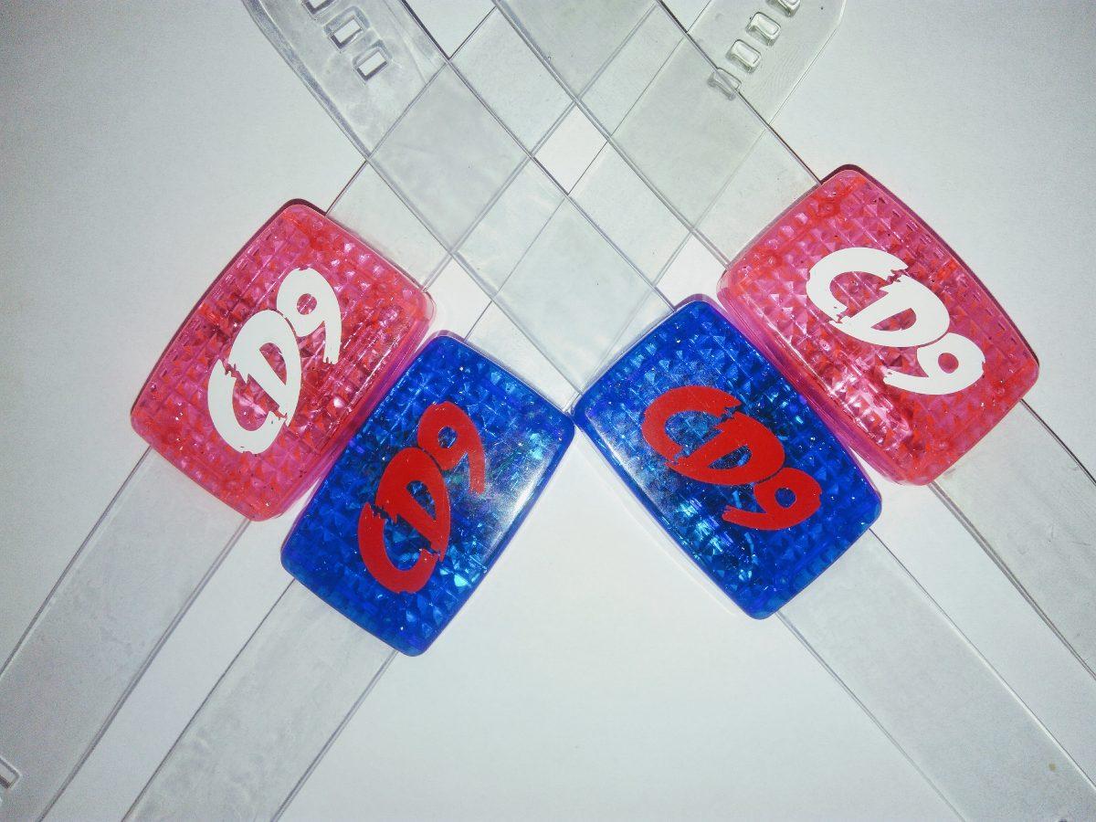 c413a038c4f0 Cd9 Pulseras Led Audioritmicas Conciertos -   30.00 en Mercado Libre