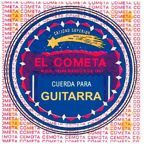 cda 4a el cometa para guit 12 pzs entor dorado .028 cogs-211