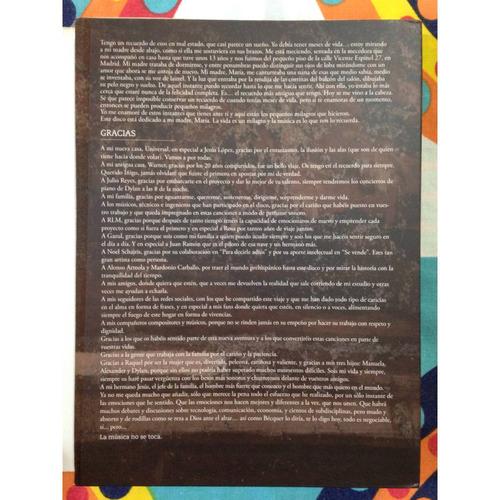 cd/dvd la música no se toca edición deluxe - alejandro sanz