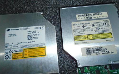 cd/dvd-rw slimline sff dell 740 745 755 optical drive