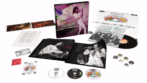 cd/dvd/bluray box queen night at the odeon (deluxe) (import)