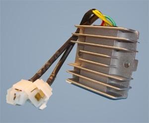 cdi con avance bateria + regulador trifasico blackstone 300