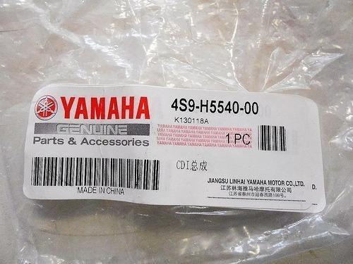 cdi original p/ yamaha new crypton t110 yuhmak