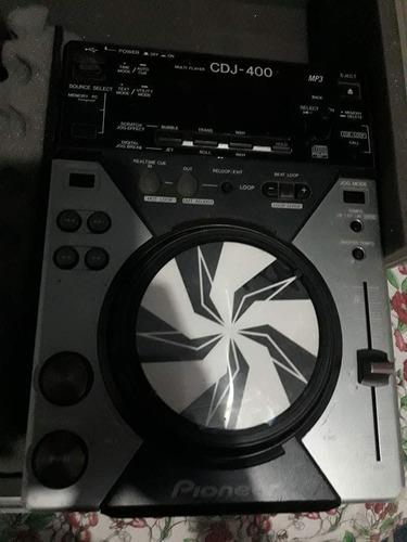 cdj 350 + cdj 400 + mixer vmx 300 na caser