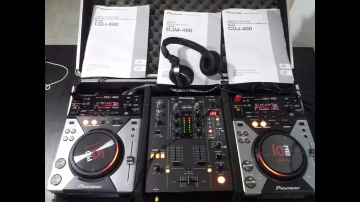 dbf516dad Cdj Pionner 400 (par) + Mixer Behringer Nox606 +case+ Cabos - R ...
