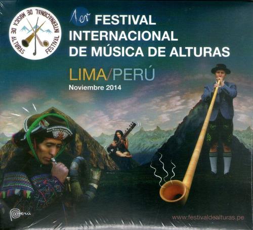 cdm 1er festival música de alturas (cd nuevo y sellado)