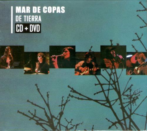 cdm mar de copas de tierra acústico (cd+dvd nuevo sellado)