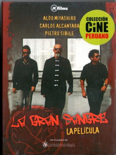 cdm película la gran sangre (dvd sellado) cine butaca perú