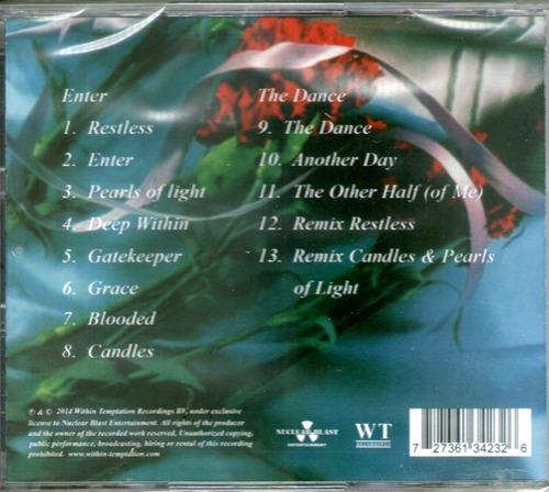 cdm within temptation enter & dance (cd nuevo y sellado)