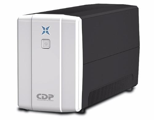 cdp ups regulador r-upr 758 750va 350 w 8 salidas (gadroves)