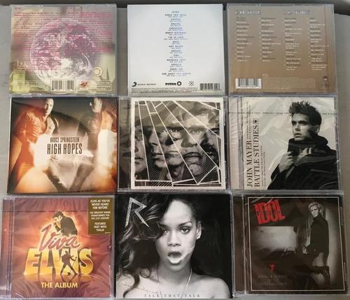 cds anglo - rock, pop - nuevos, sellados