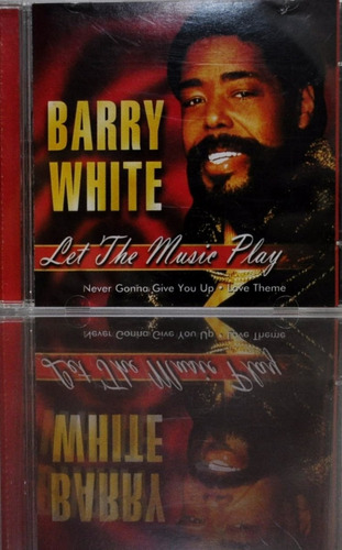 cds - celetâne -  barry white - let the music play