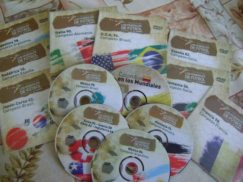 cd's (coleccion) mundiales de futbol