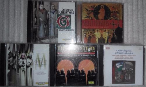 cds. de cantos cregorianos y litúrgicos rusos