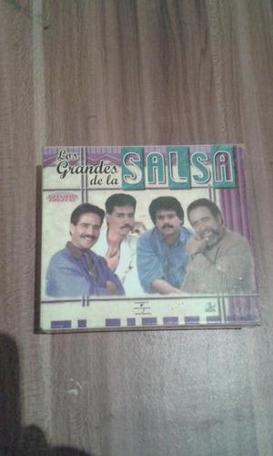 cds de coleccion 4 pack los grandes de la salsa