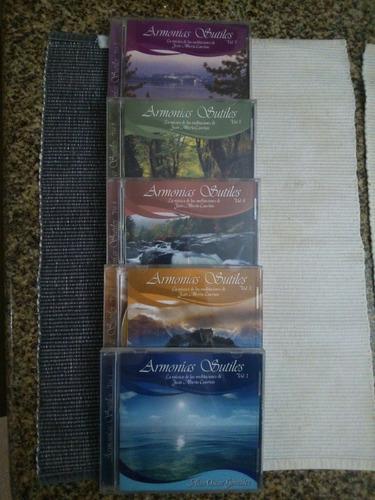 cds de meditación dirigida colección gandharva importados