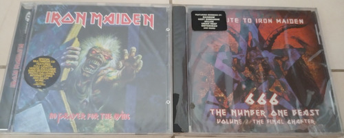 cds de metal iron maiden nuevos, sellados, importados