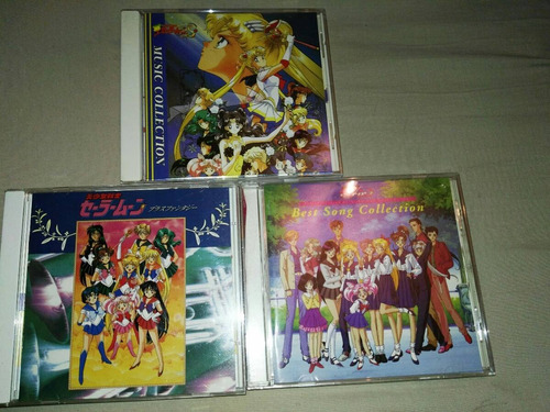 cds de música de sailor moon originales envio gratis
