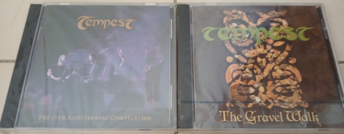 cds de originales nuevos rock y metal tempestet importados