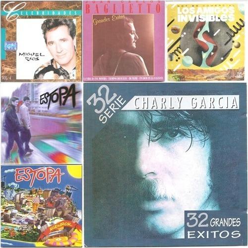 cds de pop latino combo 2 x 1 (precio real reputación 100%)