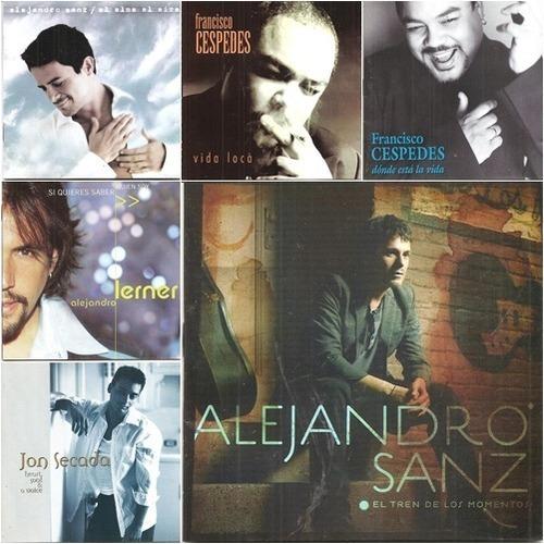 cds de pop latino combo 3 x 1 (precio real reputación 100%)