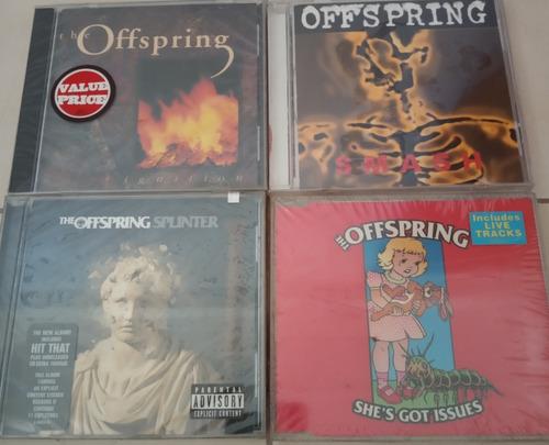 cds de rock the offspring originales nuevos y sellados