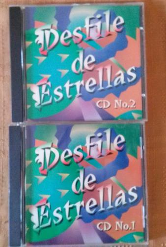 cds desfile de estrellas vol. 1 y vol. 2