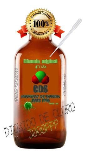 cds dioxido de cloro 1000ml / clorito de sodio desinfectante