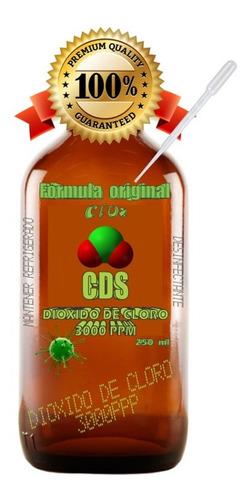 cds dioxido de cloro 250ml / clorito de sodio desinfectante