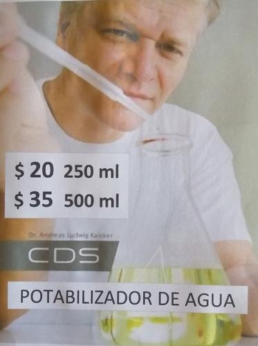 cds dioxido de cloro ( clorito de sodio ) mms
