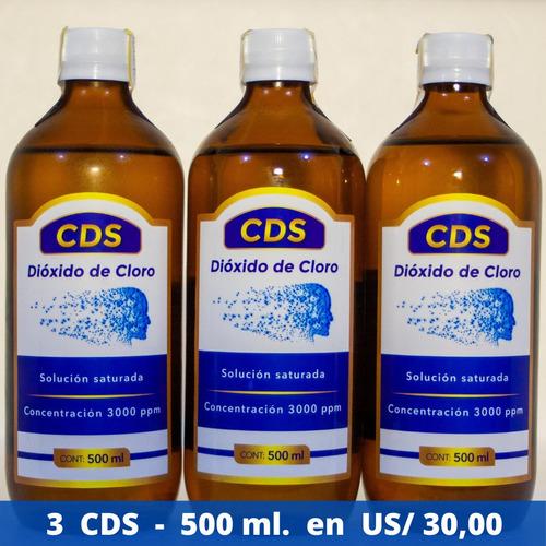 cds dioxido de cloro promoción 3 cds x $ 30,00