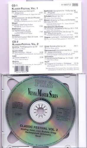 cd's doble klassik-festival original 19 temas en los 2 cd