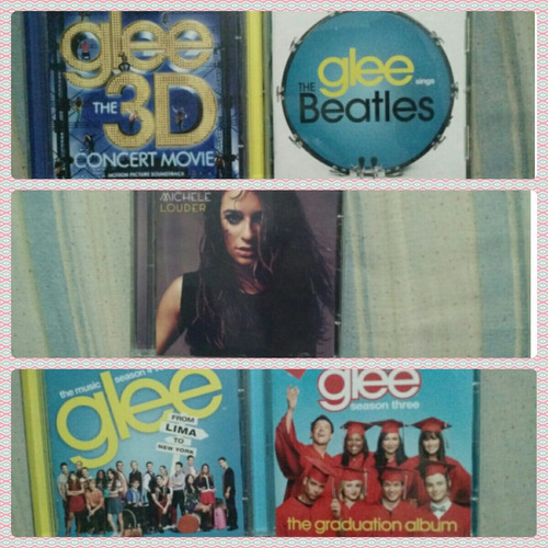 cds e dvds glee originais