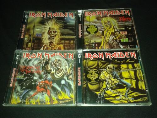 cds iron maiden colección heavy metal