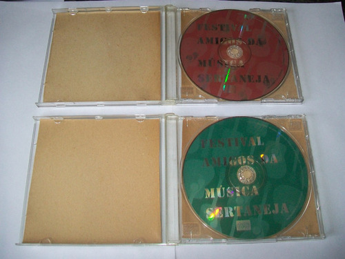 cds jornal extra - fes.da música sertaneja** vols:1; 2; 3; 4