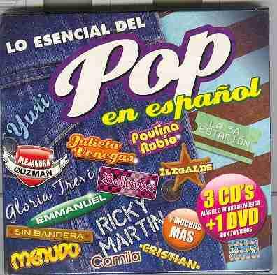 cd`s lo esencial del pop /nuevo