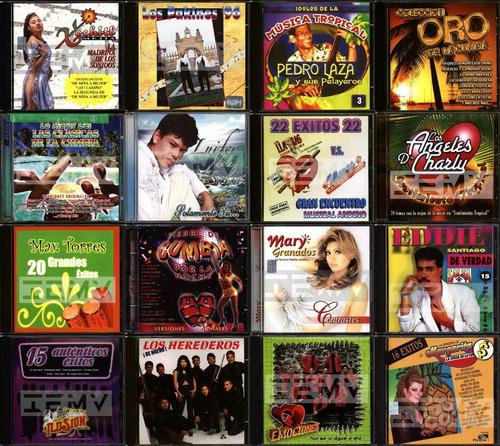 cds musica cumbia salsa