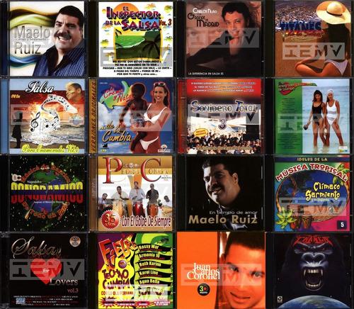 cds - musica sonidera / cumbia salsa varios