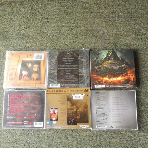 cds nile, cannibal corpse, carcass, system of a down, etc