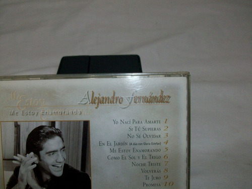cds oferta remate musica alejandro fernandez vzla orig usad