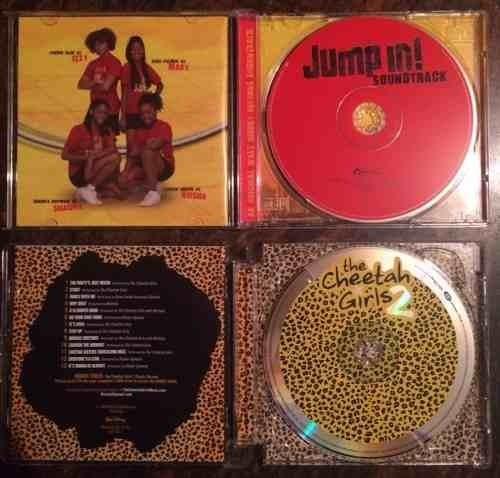 cds original high school musical ,the cheetah girls ,jumpin