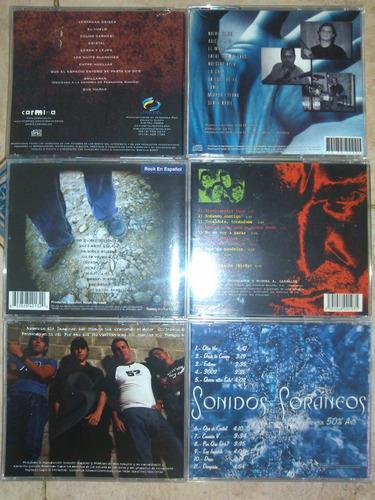 cds originales como nuevos perfectos rock nacional bs 7900