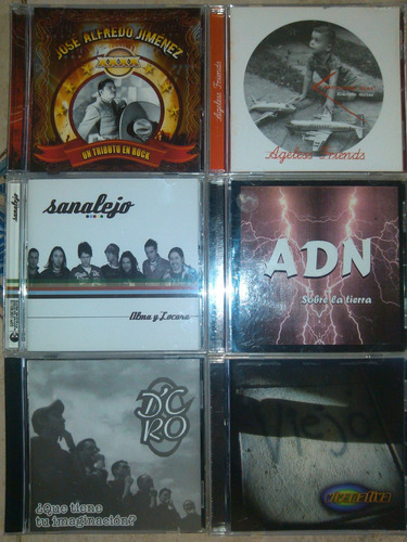 cds originales como nuevos rock nacional bs 4.500