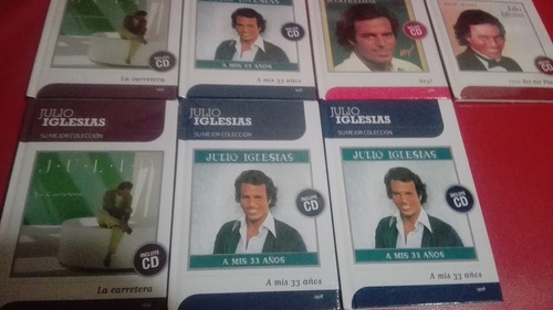 cds originales c/u con mini libro julio iglesias