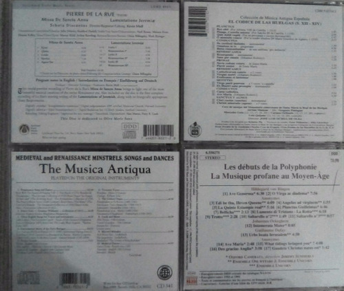 cds originales de música antigua (edad media, etc.)