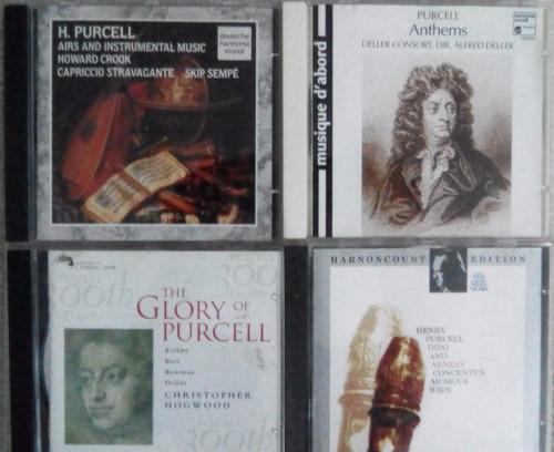 cds originales de música de henry purcell