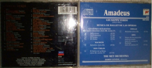 cds originales de música de verdi (arias de ópera, ballets)