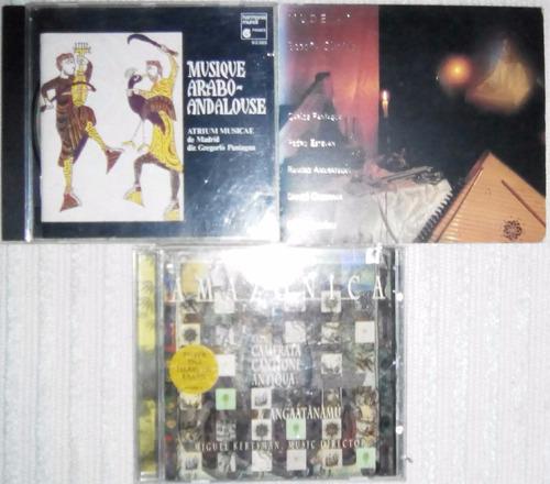 cds originales de música española (árabe andaluza), etc.