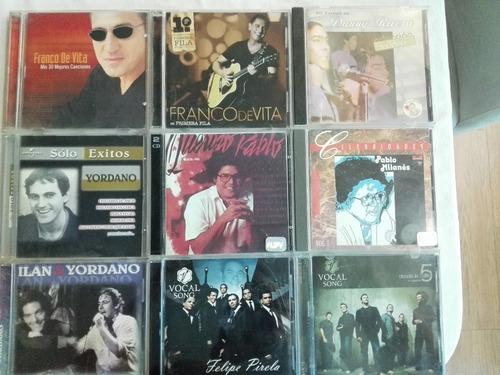 cd's originales de música variada
